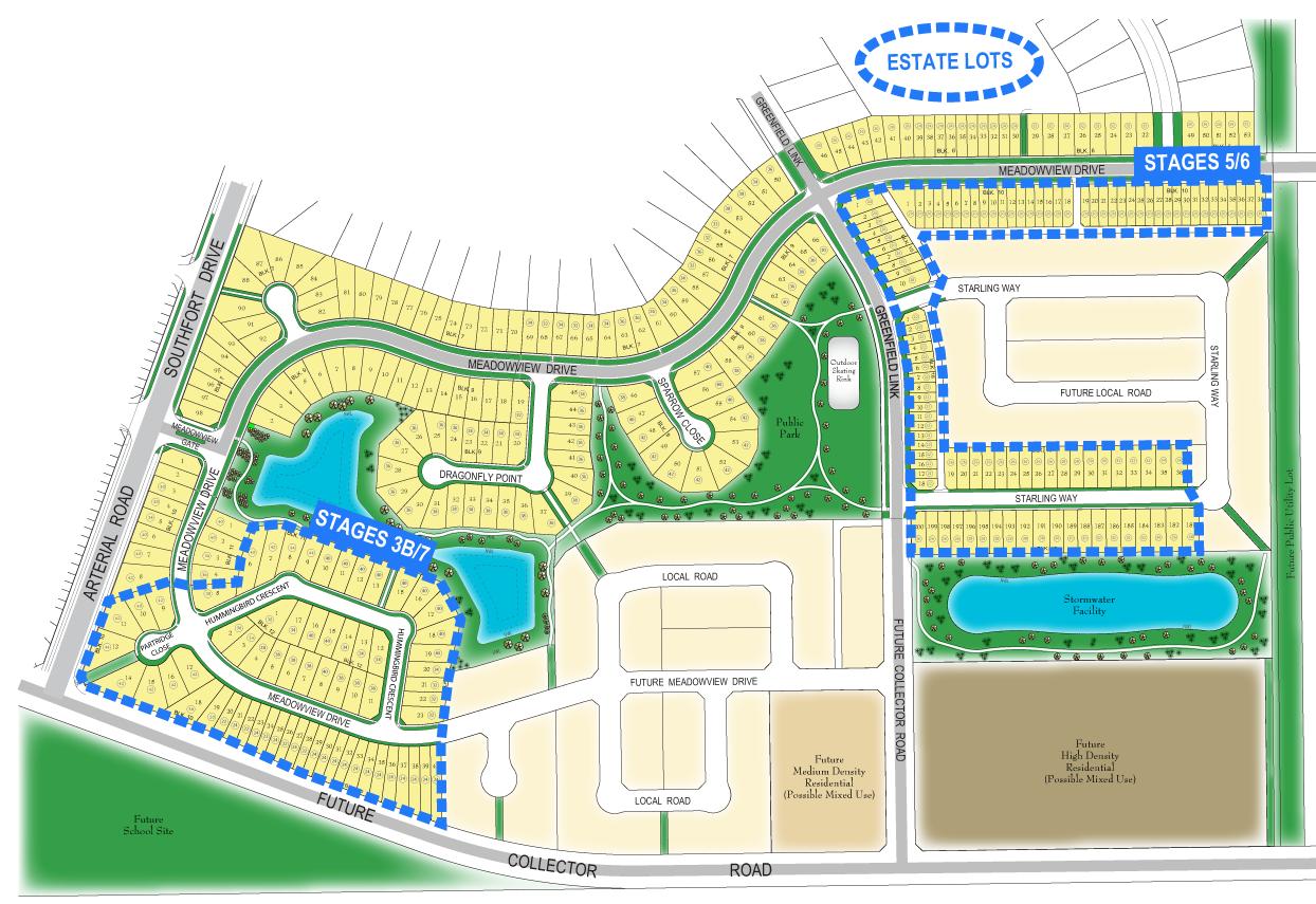 Main lot map
